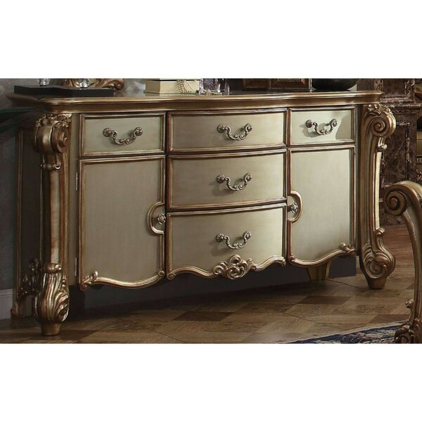 Marcello Wooden 5 Drawers Combo Dresser by Astoria Grand