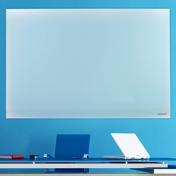 Frosted Glass Wall Mounted Glass Board by Martack Specialties Ltd
