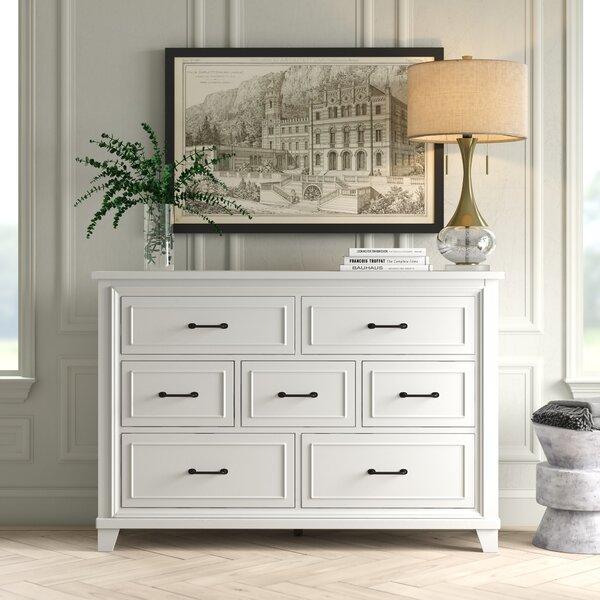 Kaylan Weathered 7 Drawer Dresser by Greyleigh