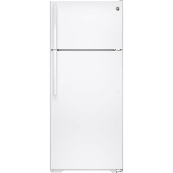 17.5 cu. ft. Energy Star® Top-Freezer Refrigerator by GE Appliances