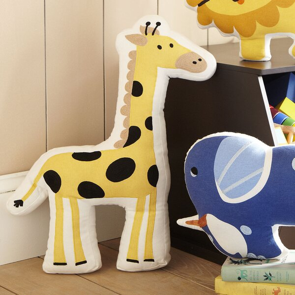 Giraffe Ark Pillow by Birch Lane Kids™