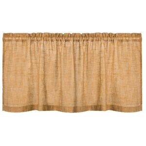 Homespun Tier Curtain