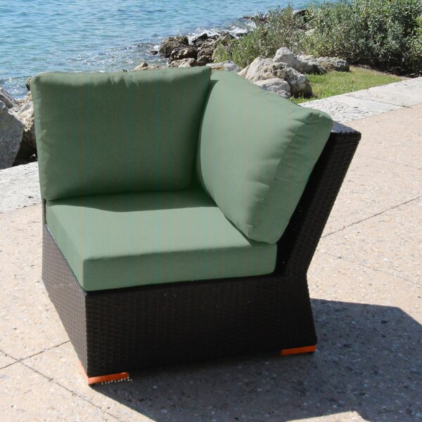 Marcelo Corner Chair with Cushions by Bellini Home and Garden
