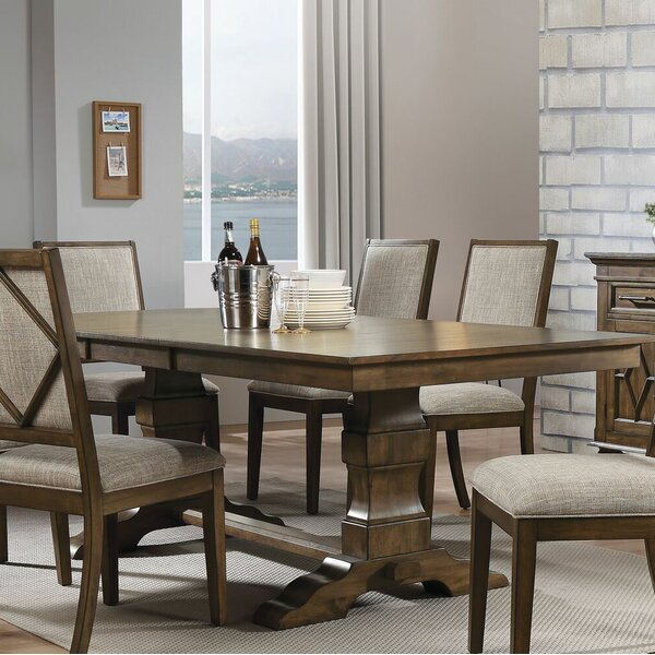 Calhoon Extendable Dining Table by Gracie Oaks