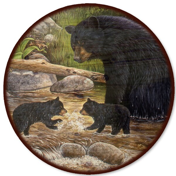 Bear Creek Gang Lazy Susan by WGI-GALLERY