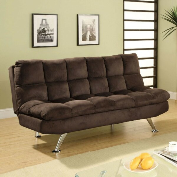 Weid Microfiber Convertible Sofa by Latitude Run