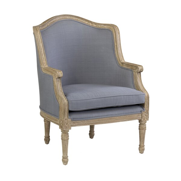 Maximilian Wingback Chair by Ophelia & Co.