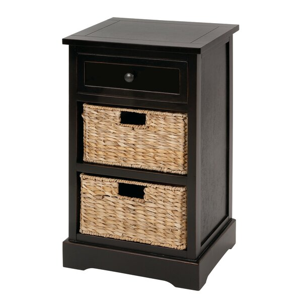 Arsenovic 3 Drawer Accent Chest by August Grove August Grove