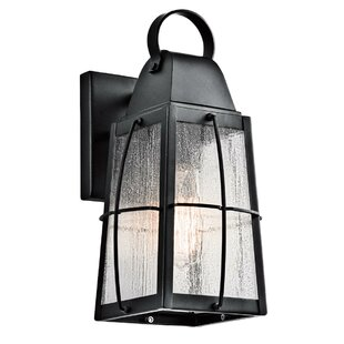 Savings Beamer 1-Light Outdoor Wall Lantern By Darby Home Co