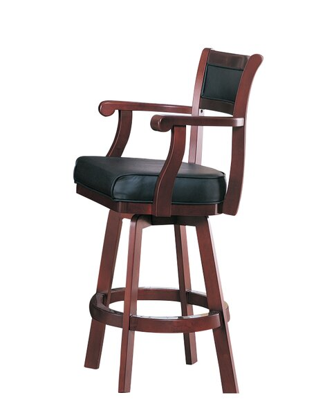 Tiernan 29 Swivel Bar Stool by Wildon Home ®