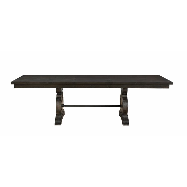 Laurencho Extendable Dining Table by Gracie Oaks