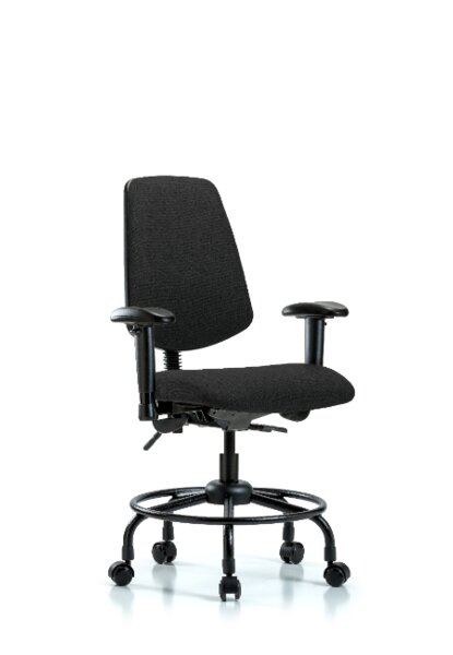 Max Round Tube Base Desk Height Ergonomic Office Chair by Symple Stuff