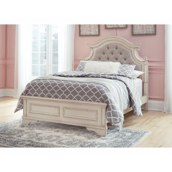 Sara Upholstered Standard Bed by Ophelia & Co.