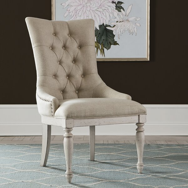 Correa Upholstered Dining Chair (Set Of 2) By One Allium Way