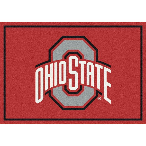 Collegiate Ohio State University Buckeyes Doormat by My Team by Milliken