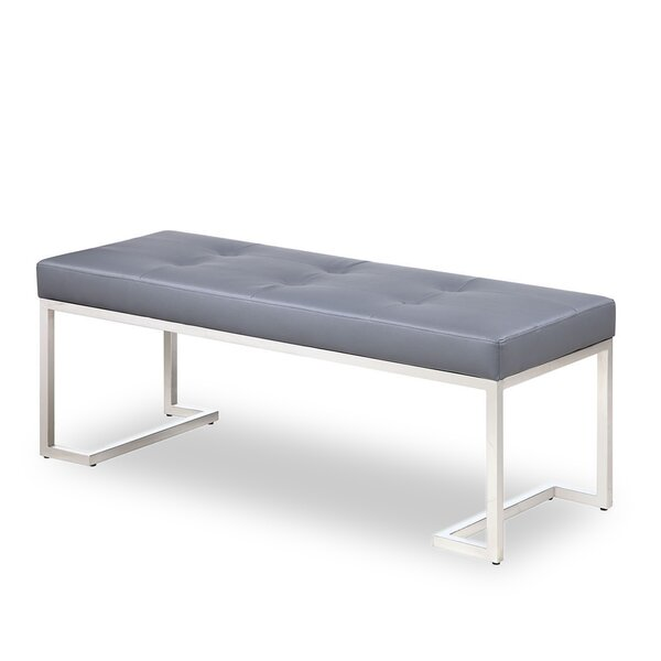 Braelynn Metal Bench by Orren Ellis Orren Ellis