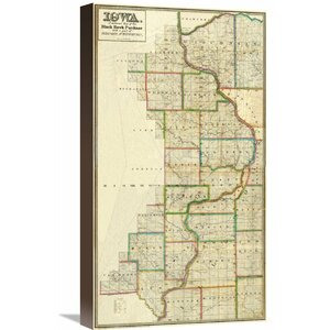 Iowa, 1838 by L. Judson Graphic Art on Wrapped Canvas by Global Gallery