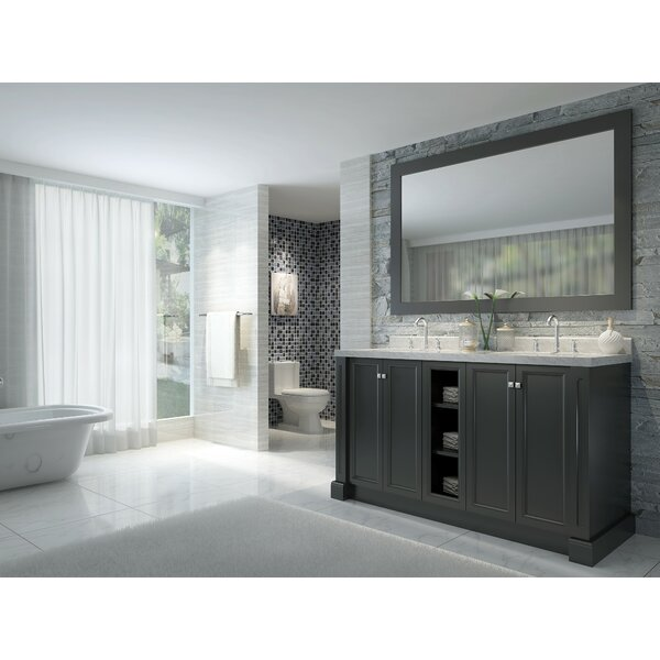 Asa 61 Double Bathroom Vanity Set by Red Barrel Studio