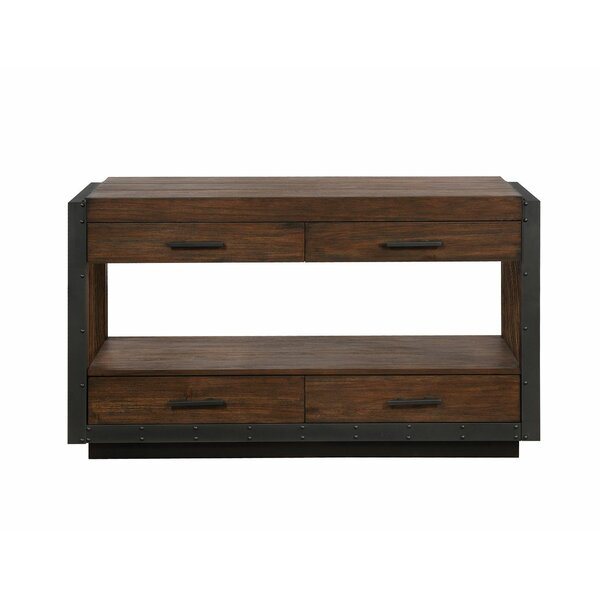 Esai Cottage Console Table by 17 Stories