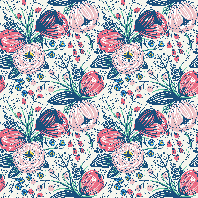 Bungalow Rose Pasadena Removable Vintage Poppy Flowers 6 25 L X