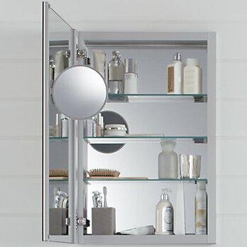 Verdera Aluminum Medicine Cabinet with Adjustable