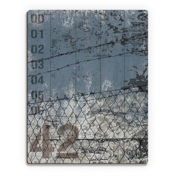 Fence 42 Graphic Art on Canvas by Click Wall Art