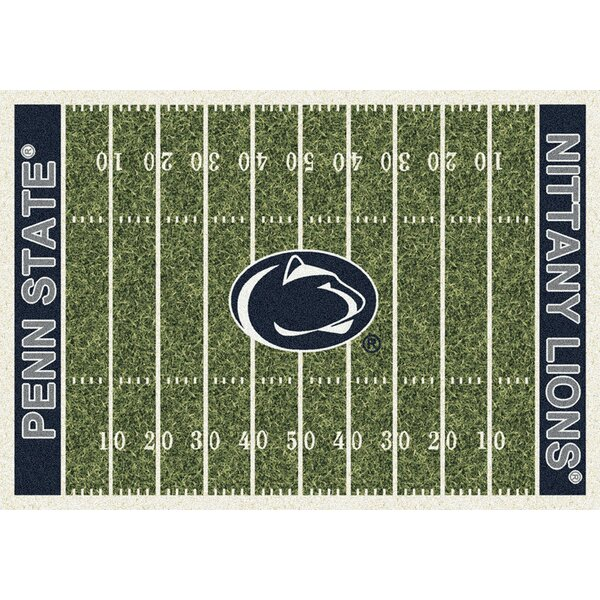 NCAA Team Home Field Novelty Rug by My Team by Milliken