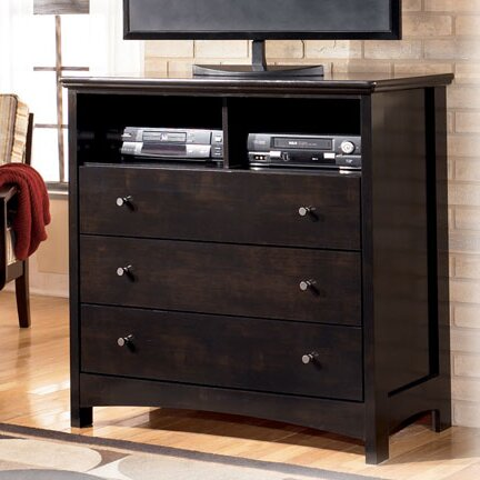Menard 3 Drawer Media Chest by Signature Design by