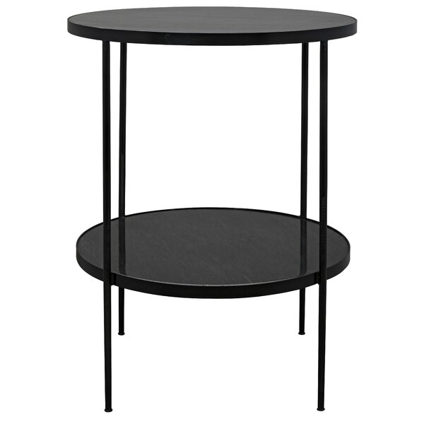 Rivoli End Table by Noir