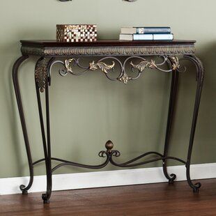 Byrd 4 Piece Console Table and Mirror Set Alcott Hill