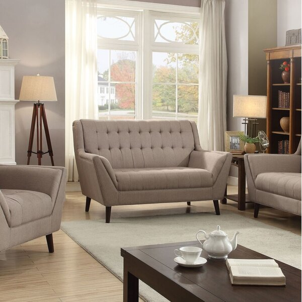 Choosing Right Lewandowski Loveseat by Latitude Run by Latitude Run