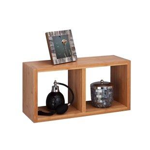 Bamboo Double Wall Shelf by Honey Can Do