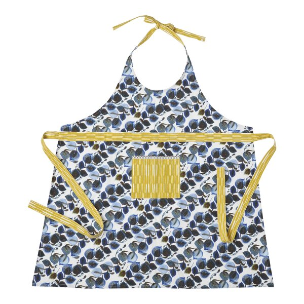 Cotton Leaf Pattern Apron by Hallmark Home & Gifts
