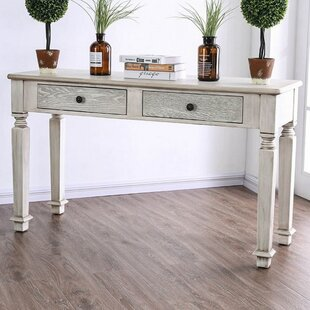 Hearne Rustic Console Table
