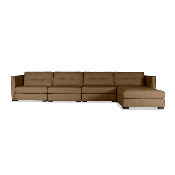 Timpson Plush Deep Modular Sectional with Ottoman by Latitude Run