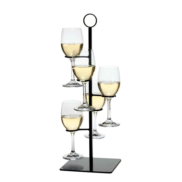 Gary 5 Bottle Tabletop Wine Bottle Rack by Charlton Home Charlton Home