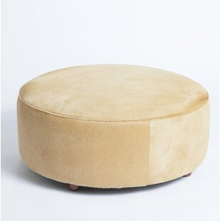 Cobden Leather Pouf