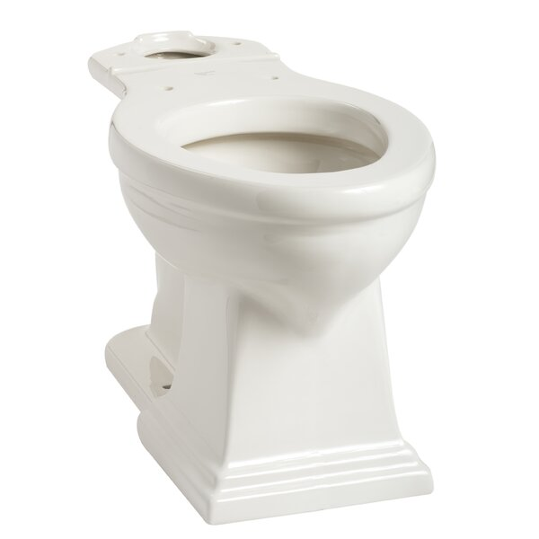 Brentwood SmartHeight Elongated Toilet Bowl by Mansfield Plumbing Products