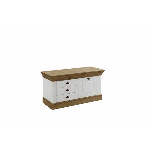 Falkville Wood Storage Bench Brambly Cottage Colour: