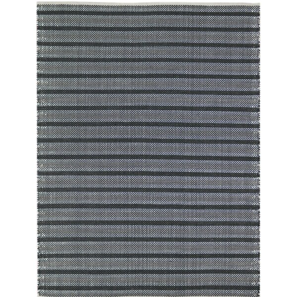Brette Flat Woven Gray Area Rug by Williston Forge