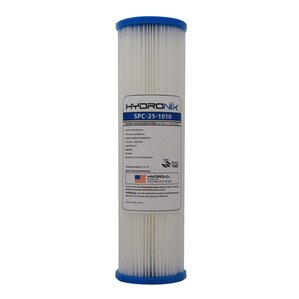Polyester Pleated Under Sink Replacement Filter by Hydronix