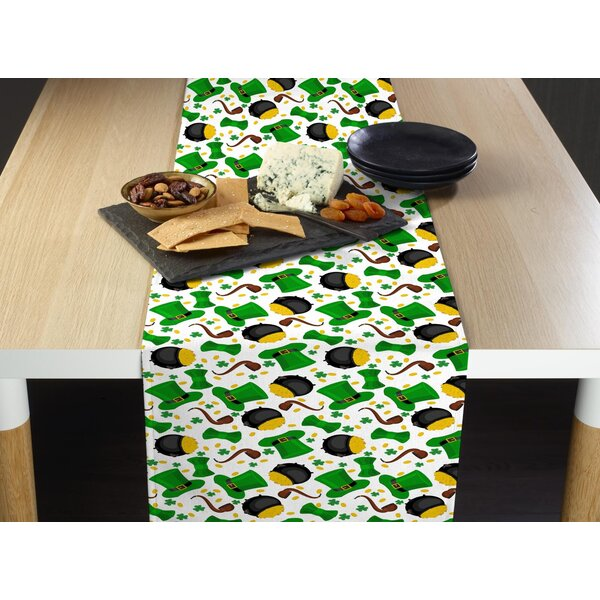 Estep Luck of the Irish Table Runner by The Holiday Aisle