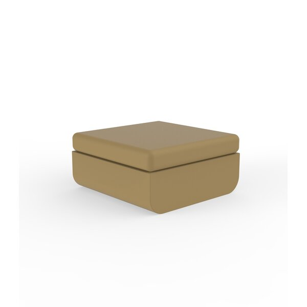 Ulm Outdoor Ottoman by Vondom