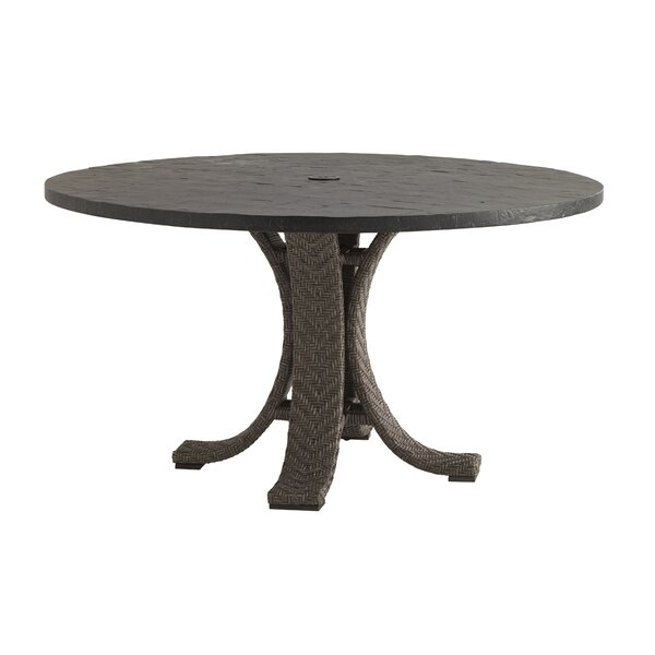 Olive Wicker Dining Table by Tommy Bahama Outdoor
