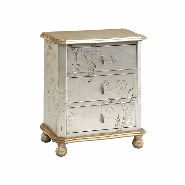 Oswald 3 Drawer Accent Chest