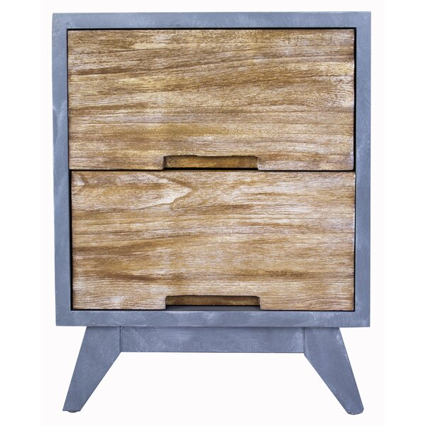 Griselda 2 Drawer Accent Chest by Union Rustic