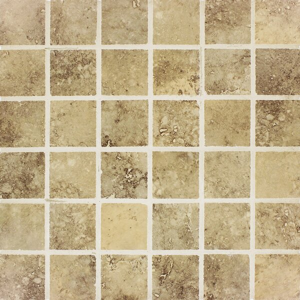 Venice 2 x 2 Porcelain Mosaic Tile in Storm by MSI