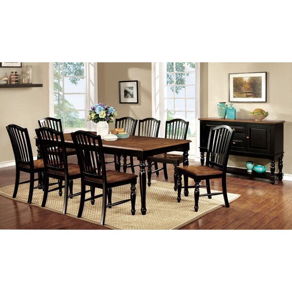 Tanner 9 Piece Extendable Dining Set by Hokku Designs
