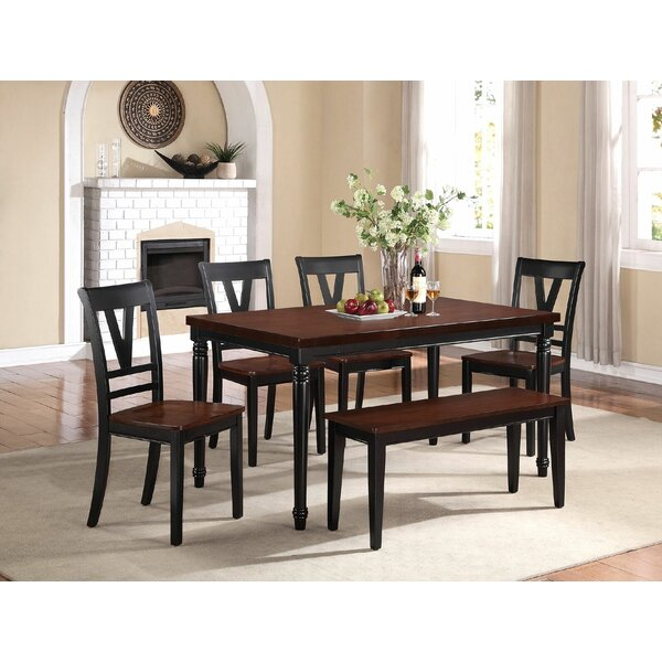 Stephenson 6 Piece Dining Set by Canora Grey