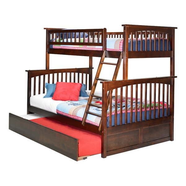 Abel Twin Over Full Standard Bed with Trundle by Harriet Bee